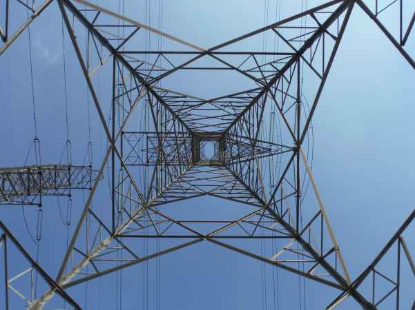 electric electricity high voltage line industry